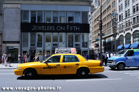 Taxi et New York