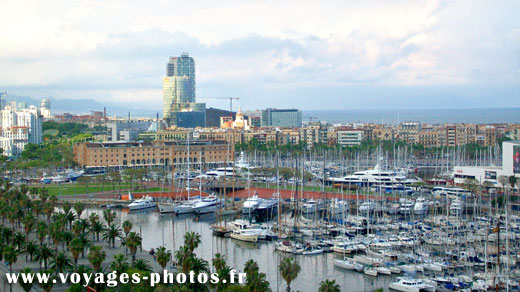 Barcelone - port de plaisance