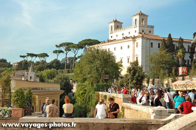 La villa m dicis rome photoblog - Villa medicis rome chambres ...