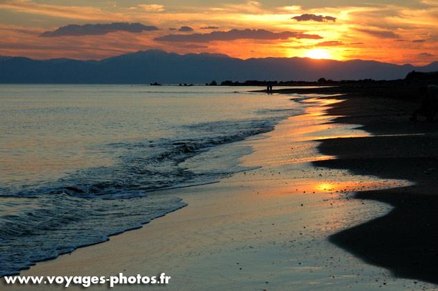 coucher de soleil en Turquie