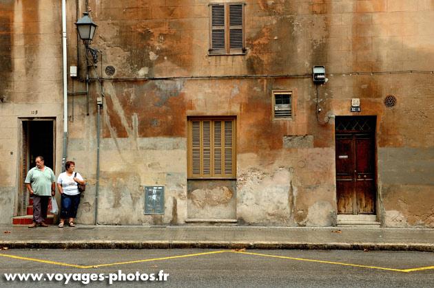 Arret de bus - Majorque