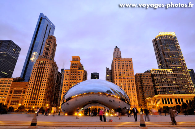 Le bean de Chicago