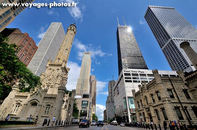 Les grattes-ciels de Chicago
