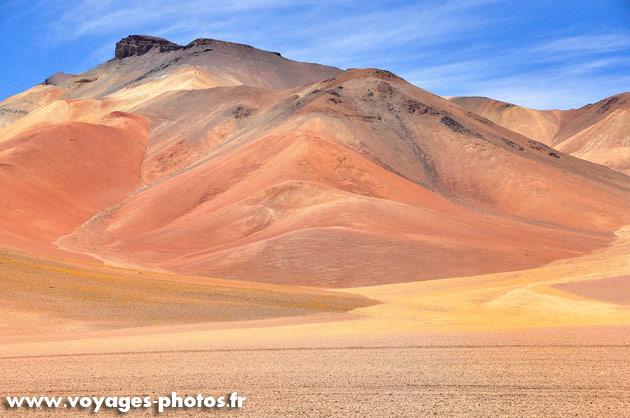Désert en Bolivie
