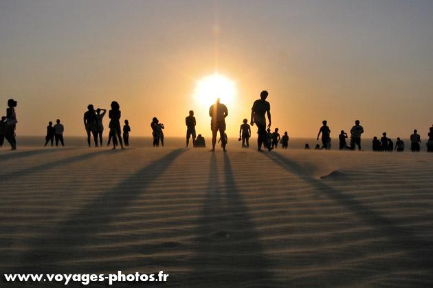 Bresil - coucher de soleil