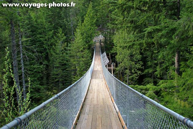 Pont suspendu au Canada