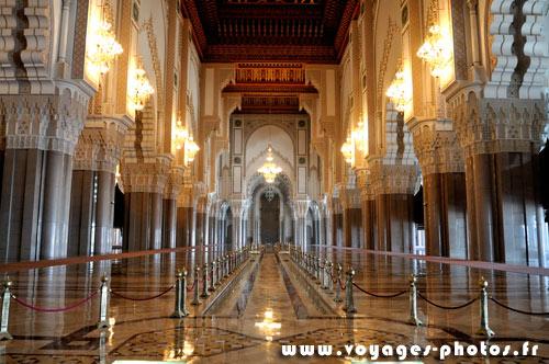 Mosqu e hassan ii voyages photos au maroc for Mosquee hassan 2 interieur