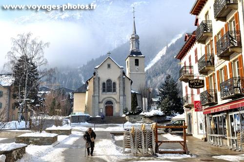 En commun Eglise de Chamonix - La montagne en photos &IL_43