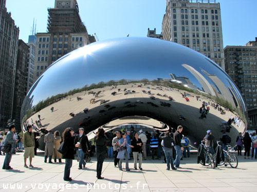 Le millenium parc chicago