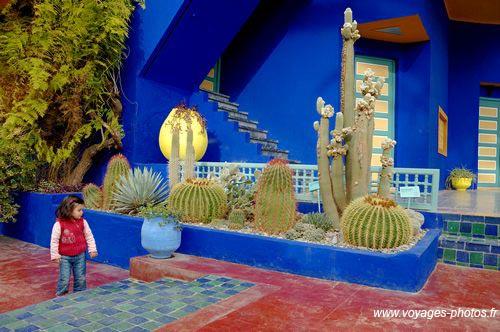 Jardin majorelle voyages photos - Jardin majorelle marrakech photos ...