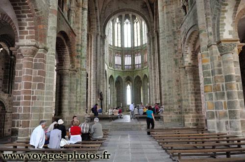 Cloitre de l\'abbaye - Mont-Saint-Michel