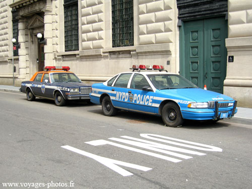 New-York Voiture de Police
