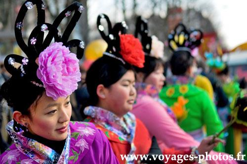 Jeunes femmes chinoises