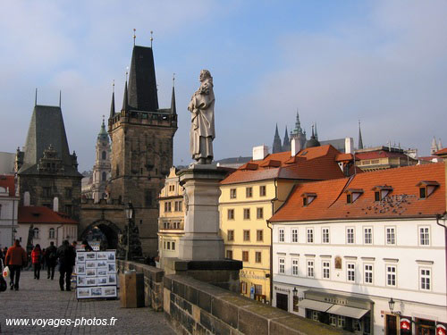 Prague -  Pont Saint Charles