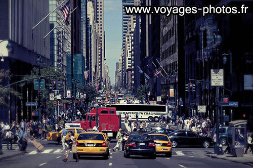 yellow cabs de New York