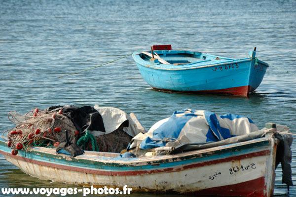 Barque de pêche à djerba